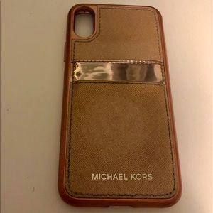Michael Kor's iPhone X/XS case
